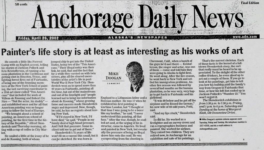 Anchorage Daily News, 2002