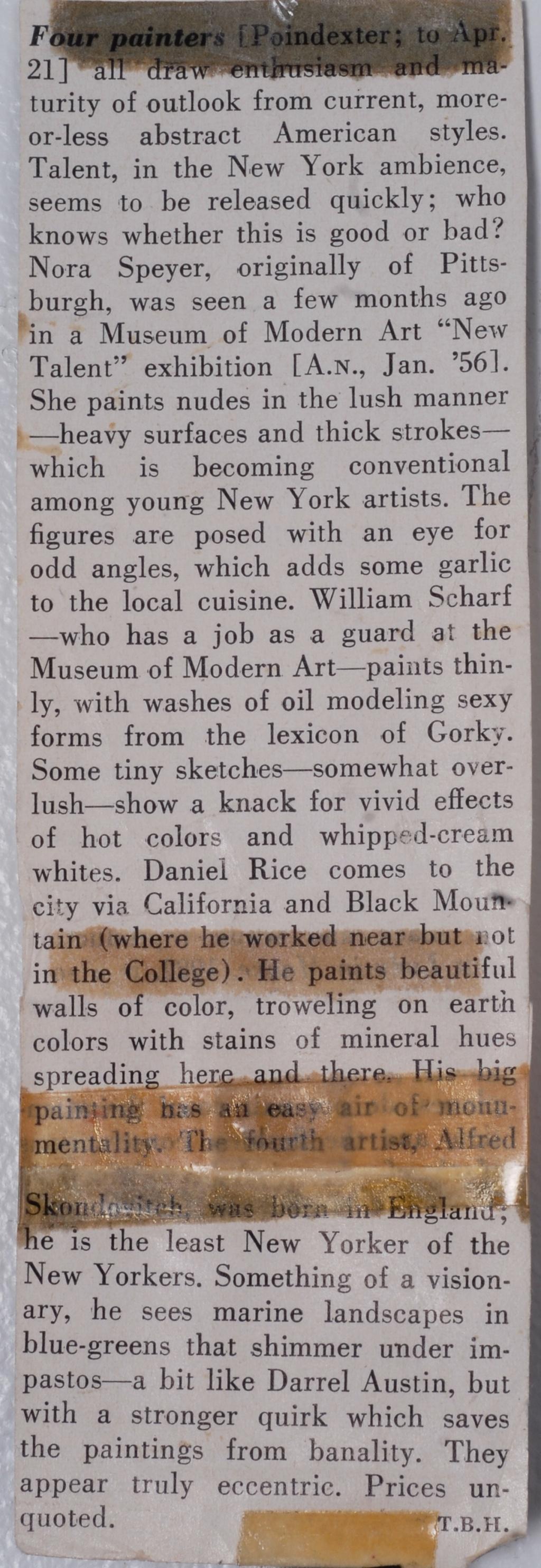 Art News, 1956