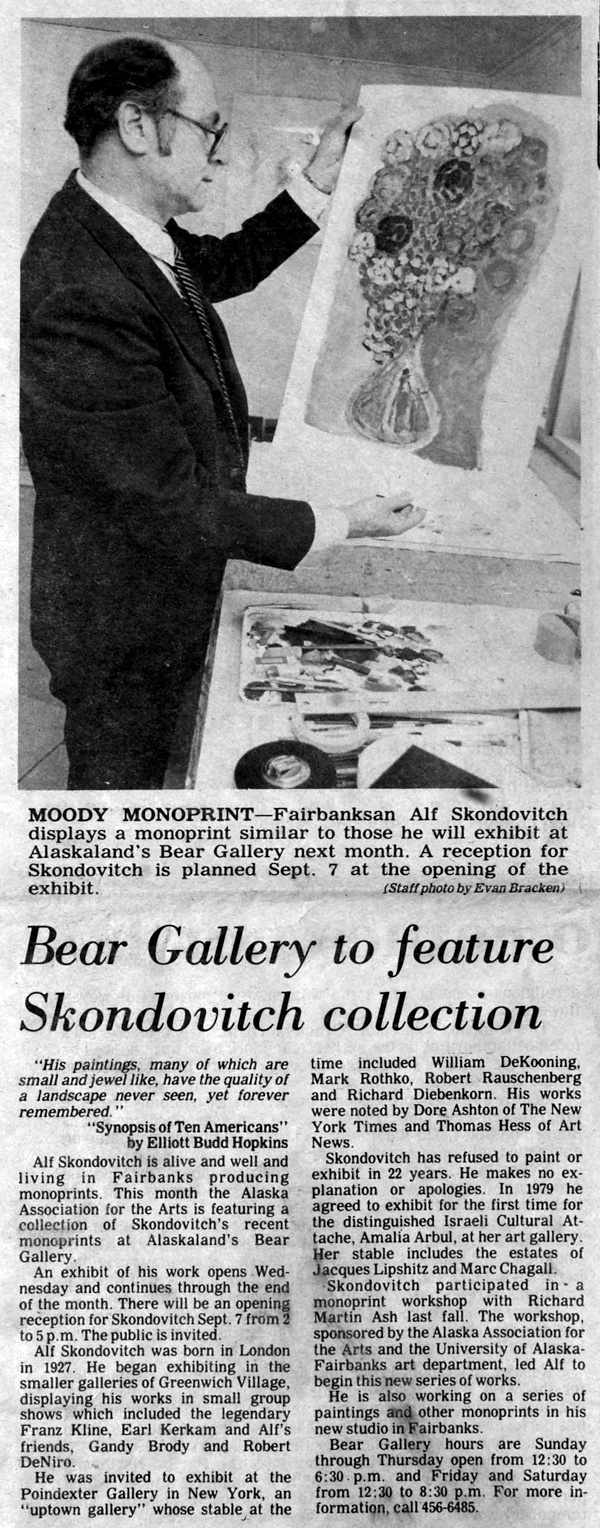 Bear Gallery, 1980