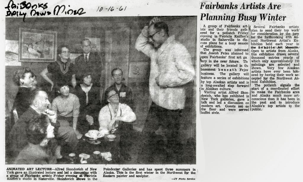 Fairbanks Daily News-Miner, 1961