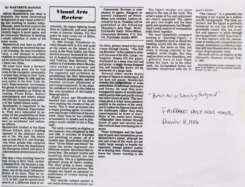Fairbanks Daily News-Miner, 1986