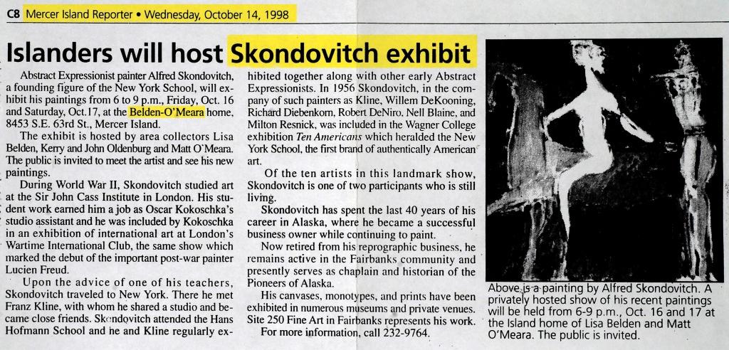 Mercer Island Reporter, 1998